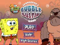 Spongebob Schwammkopf zerplatze die Blasen